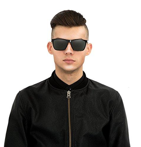 hombres del Gafas Anteojos de de gafas Nocturna Gafas libre conductor Día al Un ZHANGYUSEN Visión I los para sol automóvil vintage polarizadas macho aire waOq74T