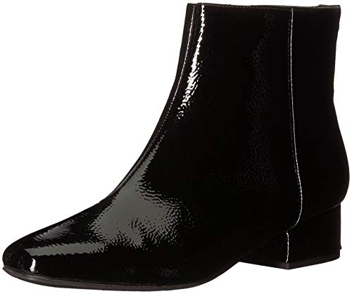Circus by Sam Edelman Women's Lyndsey Fashion Boot, Black Crinkled Patent