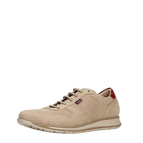CallagHan 88402 Sneakers Hombre Beig