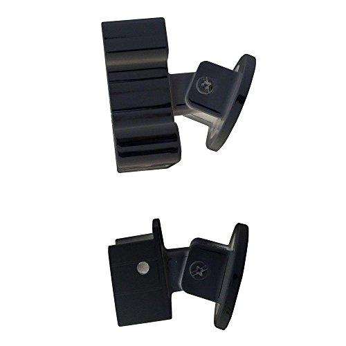 Peak Aluminum Railing Black Aluminum Stair Rail Bracket Kit