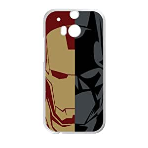 Iron Man and Batman Cell Phone Case for HTC One M8
