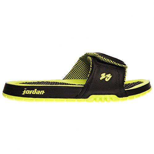 5a7a46fc32d3 Nike Jordan Hydro 2 Premier Men Slide Black Venom Green White 456524-033  (SIZE  10) - Buy Online in UAE.
