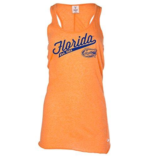 - Official NCAA University of Florida Gators The Orange and Blue GATOR NATION! Swamp Women's Racerback Tank Top