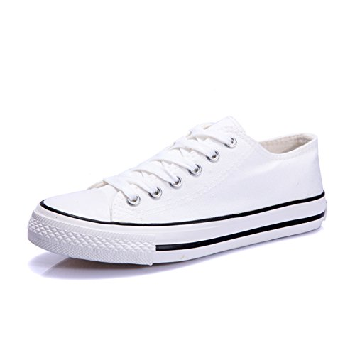 competitive price a8b0d d34a2 delicate Chaussures en toile noir et blanc Chaussures basses femme Les  souliers