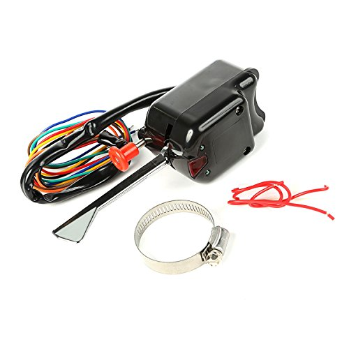 Omix-ADA 17232.03 Black Turn Signal Switch
