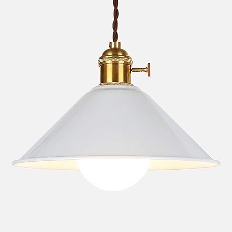 Lámpara de techo colgante LED industrial estilo vintage ...
