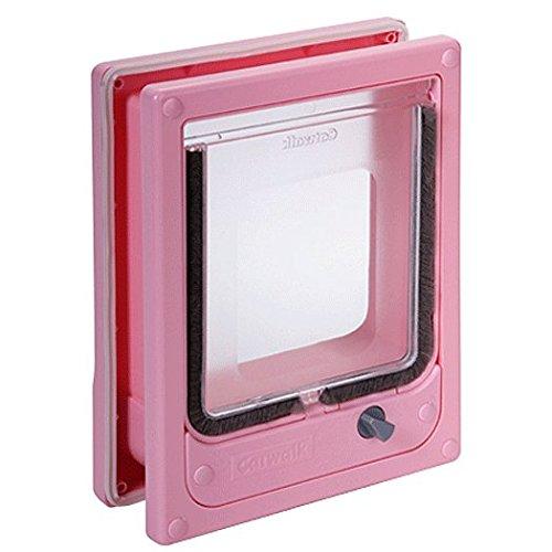 Catwalk Multimagnetic Cat Door - Pink Color