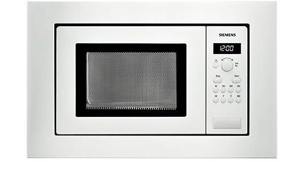 Siemens HF15M262, 1270 W, 230 V, 50/60 Hz, Blanco - Microondas ...