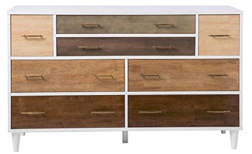 Contemporary Modern Mid-century 8-drawer Dresser by Christian Brand