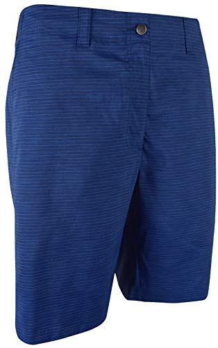Callaway Golf- Printed Horizontal Texture Short Medieval Blue