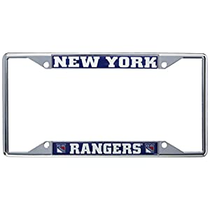 FANMATS 17170 NHL - New York Rangers License Plate Frame