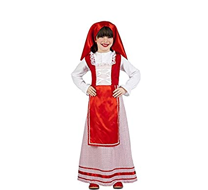 Kimokawaii Disfraz de Pastora de Belén para niña