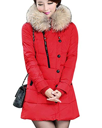 Serrage Couleur Femme Hiver Unie V Mode Cordon Veste avec Doudoune A Capuche De TqwzR