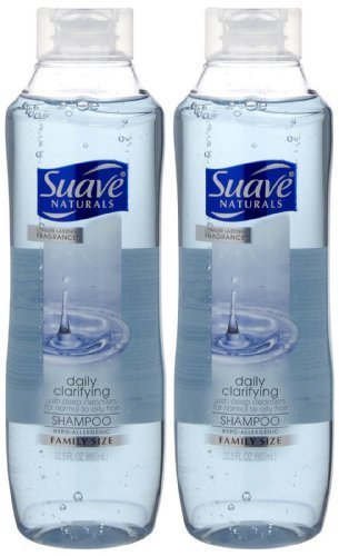 Suave Essentials Shampoo Daily Clarifying 22.5 Ounce 2 Pack by Suave