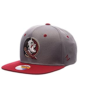 Zephyr ZEPHY YOUTH FLORIDA STATE SEMINOLES Z11 SLATE ZWOOL ADJUSTABLE HAT GRAY from Zephyr 1048675