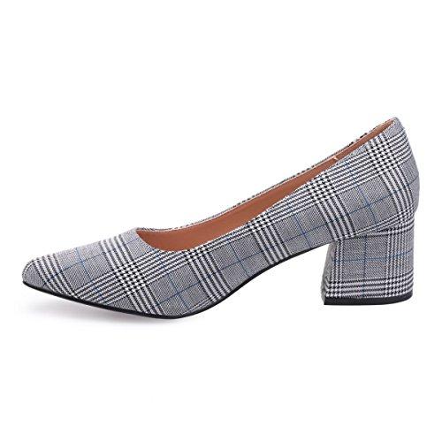 Mujer Zapatos Modeuse De Material Vestir La Sintético Azul fSwxYn5