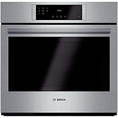 "Bosch HBL8451UC 800 30"" Stainless Steel Electric Single Wall Oven - Convection"