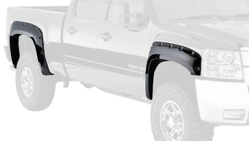 Bushwacker 40949-02 Chevrolet Cut-Out Fender Flare - Set of 4