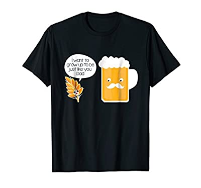 From Wheat to Beer Funny Father's Day Novelty T-shirt