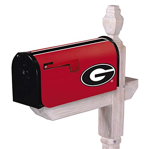 Evergreen NCAA Georgia Bulldogs Mailbox Covermailbox Cover, Team Colors, One Size (Georgia Bulldog Mailbox Cover)