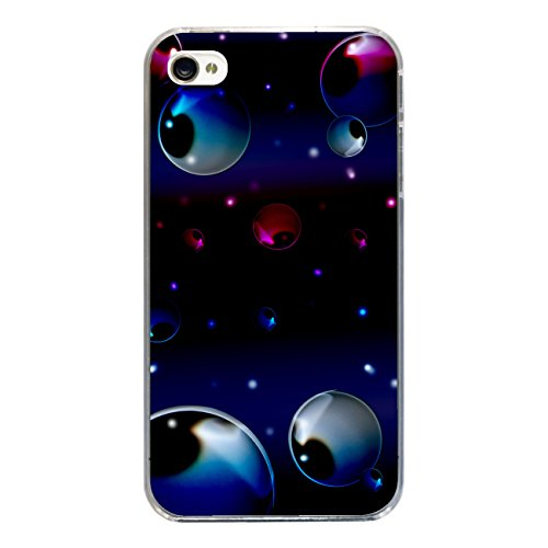 "Disagu Design Case Coque pour Apple iPhone 4 Housse etui coque pochette ""Bubble"""