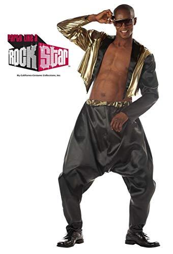 California Costumes Old School Rapper Adult Costume Black - L/XLarge]()