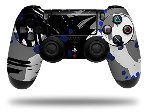 Vinyl Skin Wrap for Sony PS4 Dualshock Controller Abstract 02 Blue (CONTROLLER NOT INCLUDED)