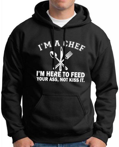 Chef Here Premium Hoodie Sweatshirt