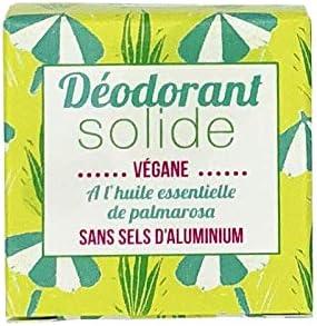 Lamazuna Solid Deodorant with Palmarosa Essential Oil 30g