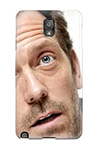Galaxy Note 3 Case, Premium Protective Case With Awesome Look - Men Male Celebrity Hugh Laurie