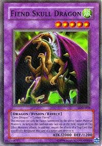 Yu-Gi-Oh! - Fiend Skull Dragon (LOD-039) - Legacy of Darkness - Unlimited Edition - Super Rare