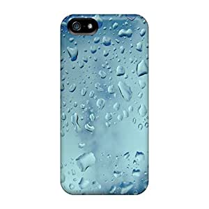 High Grade Lajonline Flexible Tpu Case For Iphone 5/5s - Water Droplets