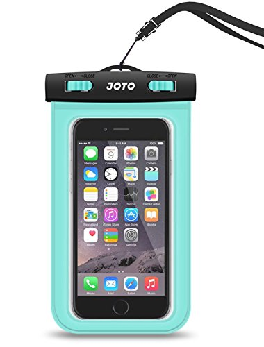 Universal Waterproof Case, JOTO Cellphone Dry Bag Pouch for iPhone X 8 7 Plus 6S 6 Plus, Samsung Galaxy S9 S9 Plus S8 Note 8 6 5 4, Google Pixel 2 HTC LG Moto Huawei BLU up to 6.0
