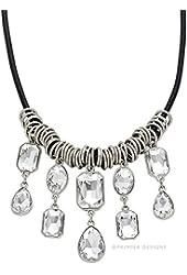 Premier Crystal Drops Necklace