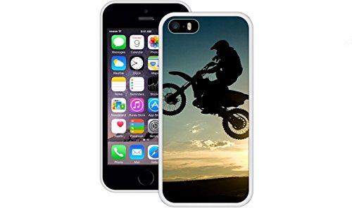 Dreckiges Fahrrad | Handgefertigt | iPhone 5 5s SE | Weiß TPU Hülle