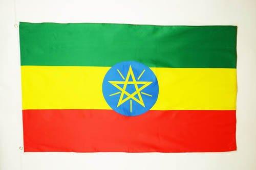 ETHIOPIA FLAG 2' x 3' - ETHIOPIAN FLAGS 60 x 90 cm - BANNER
