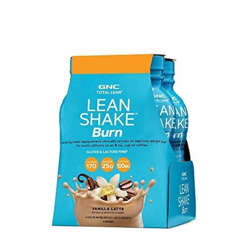 GNC Total Lean Lean Shake Burn – Vanilla Latte California Only