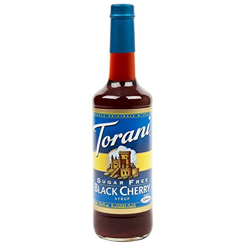 - Torani 3-Pack Sugar Free Black Cherry Syrup 750mL