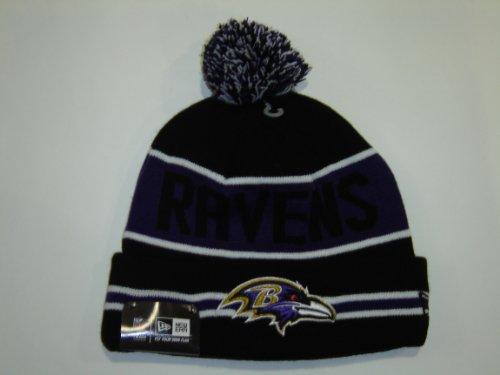 New Era NFL Baltimore Ravens Purple Striped Jake Cuffed Knit