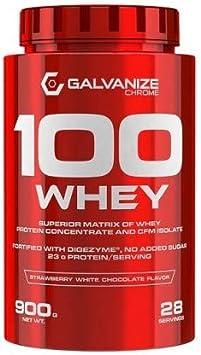 Proteina 100 Whey 900 Grs - Galvanize Nutrition, FRENCH VAINILLA