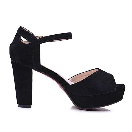 MJS00379 Sandales 1To9 Noir Pour Inconnu EU Femme 35 aqfHxC