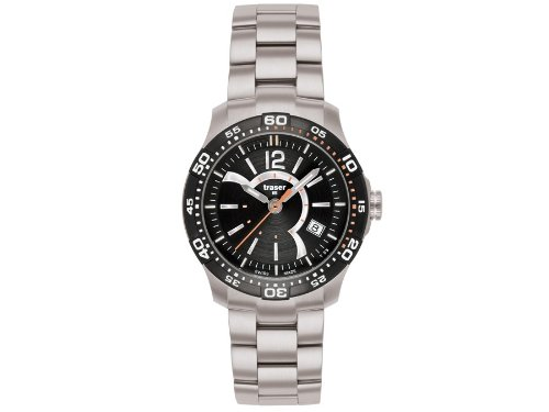 Traser H3 Ladytime Black Ladies Watch T7392.2A6.G1A.01 / 100288