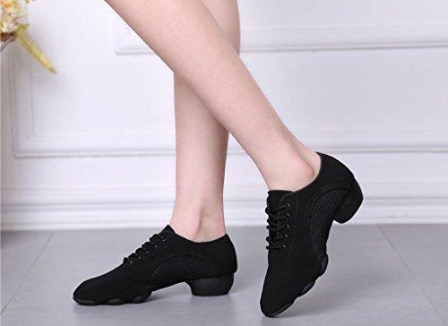 Split Women's Dance Jazz Sport Homieco Shoes Sole Trainers Soft Sneaker Modern xI4dqpY