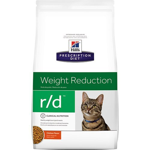 Hill's Prescription Diet r/d Weight Reduction Chicken Flavor Dry Cat Food 17.6 lb by Hill's Pet Nutrition