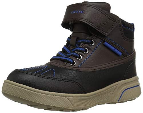 Geox Sveggen Boy ABX 1 Waterproof & Insulated Boot Ankle, Coffee/Royal, 38 Medium EU Big Kid (5.5 US) (Geox Boots For Boys)