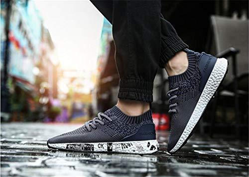 Spring Fall New Field Ocasionales Respirables Caminar Zapatos Nuevos Hard Amantes Zapatos Grass para Mujer Sneakers Ground de Artificial Knit Un Zapatos xCSCYqXw