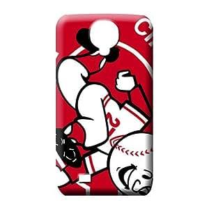 samsung galaxy s4 mobile phone carrying covers Phone Durability High Quality phone case cincinnati reds mlb baseball