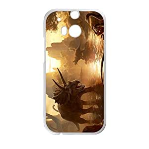 Sunset Creative Creative Dinosaurs High Quality Custom Protective Phone Case Cove For HTC M8