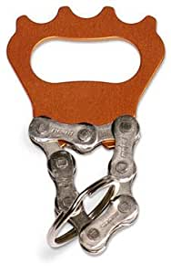 Resource Revival Keychain Bottle Opener in ORANGE