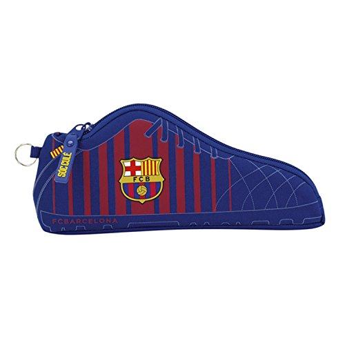 75f6e51a55f26 FC Barcelona Official Shoe Shape Pencil Case (One Size) (Blue)